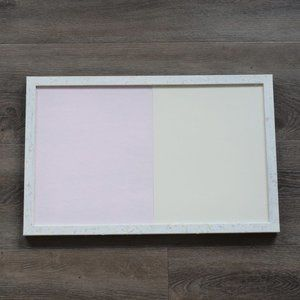 Blush Pink Cork Bulletin Board Whiteboard Holo